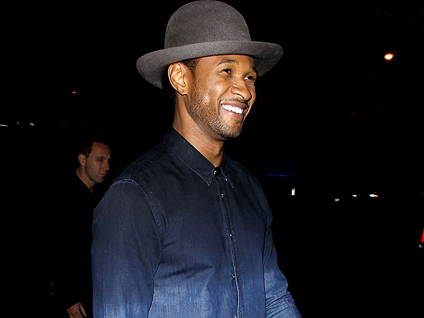 Usher's 35th Birthday Bash: Diddy & Dancing in Los Angeles
