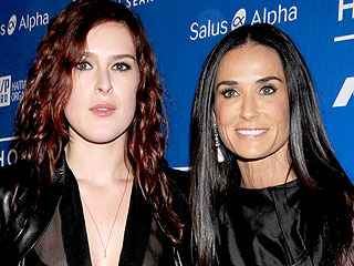 Rumer Willis Spends Time with Demi Moore After Split