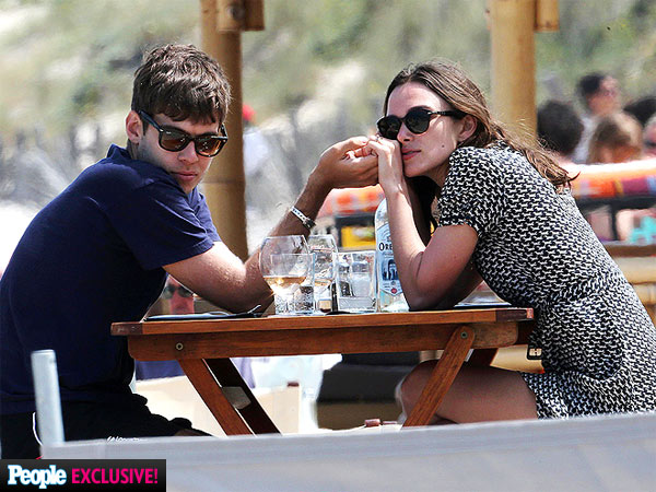 Keira Knightley & James Righton Honeymoon Photos - Newlyweds in Corsica