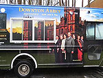 Downton Abbey Food Truck Gives Out Free Tea and Crumpets