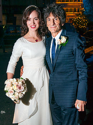 Ronnie Wood Married Sally Humphreys in London; Rolling Stones Star Weds