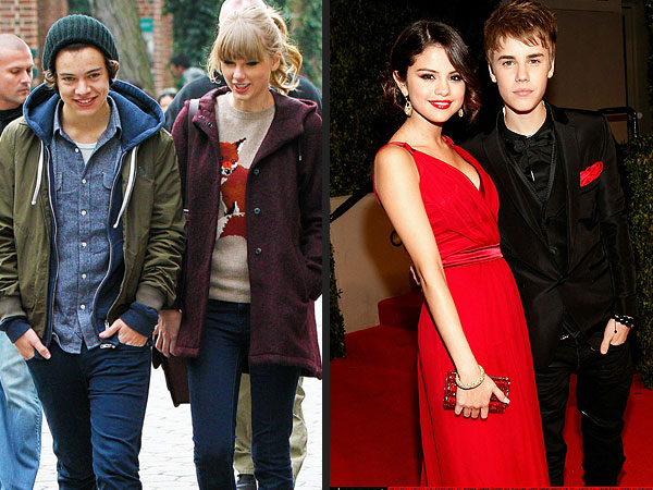 Taylor Swift and Harry Styles Ski with Justin Bieber and Selena Gomez