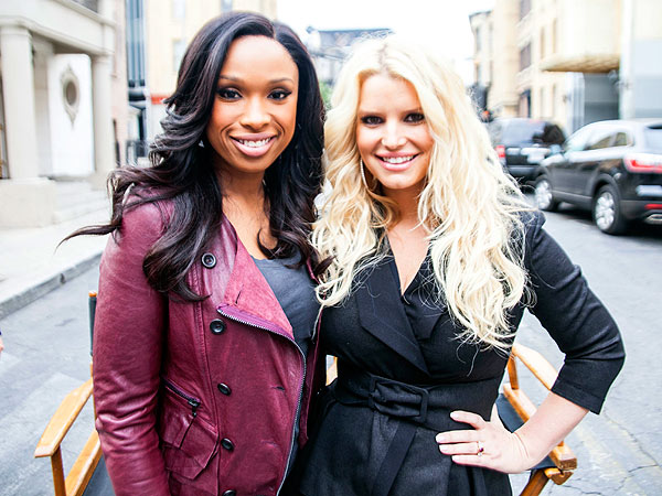 Jessica Simpson & Jennifer Hudson Show Off Weight Loss