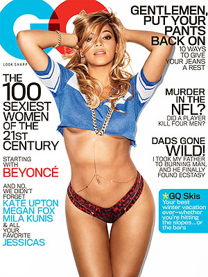 Beyonce in GQ - Sexy Pictures
