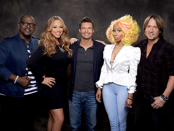 American Idol Premiere: Mariah Carey, Nicki Minaj, Keith Urban Debut