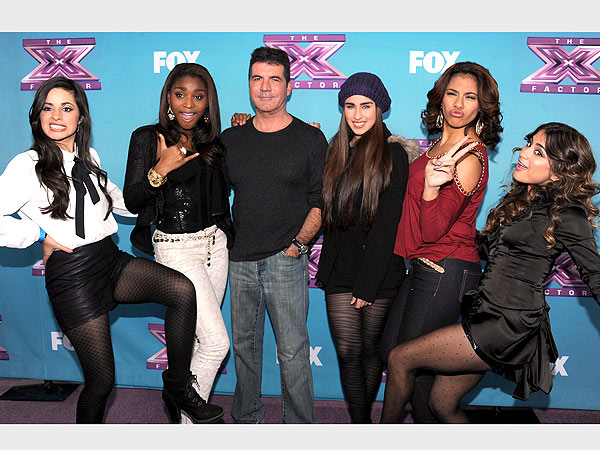 Simon Cowell Signs The X Factor's Fifth Harmony