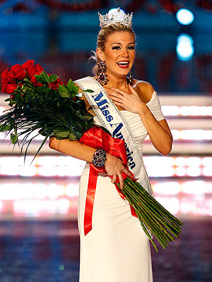 Miss America Crowned - Miss New York Mallory Hytes Hagan Wins