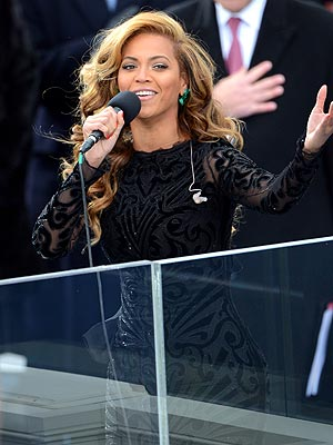 Beyoncé: Did She Lip-Sync the 'Star-Spangled Banner' at Inauguration?
