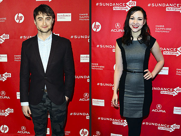 Daniel Radcliffe, Erin Darke Seen Kissing in Sundance