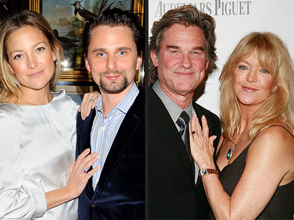 Kurt Russell Gives Kate Hudson, Matthew Bellamy Advice