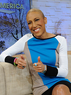 Good Morning America: Robin Roberts Stages First Dry-Run