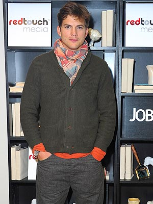 Ashton Kutcher Parties in Sundance After jOBS Premiere