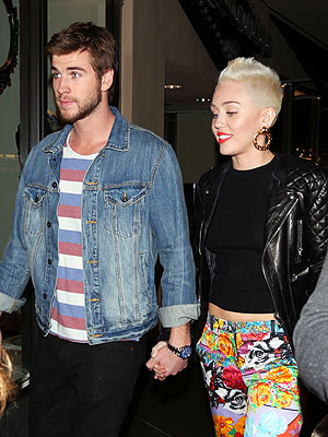 Miley Cyrus Still Engaged to Liam Hemsworth; Breakup Rumors Denied