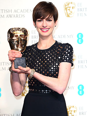 Oscars 2013 - Anne Hathaway on Winning for Les Miserables
