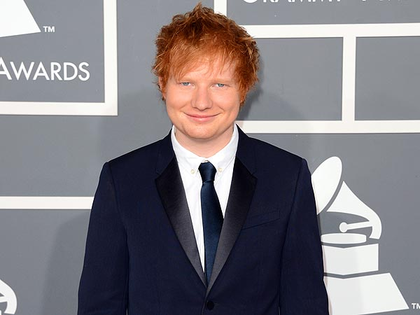 Ed Sheeran Gets a Weekly Phone Call from Elton JohnEd Sheeran