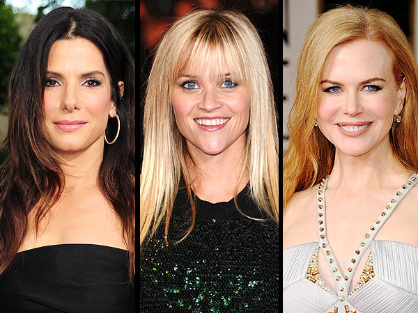 Sandra Bullock, Reese Witherspoon and Nicole Kidman Set for Oscar Stage