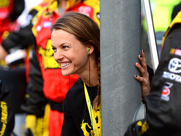 NASCAR Pit Crew Member Christmas Abbott Is First Female on the Job