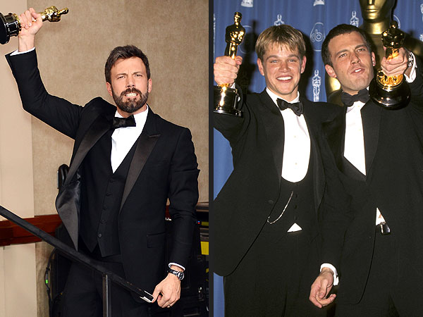 Oscars: Ben Affleck & Matt Damon Flashback