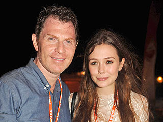 Bobby Flay & Elizabeth Olsen Celebrate Burgers in South Beach!