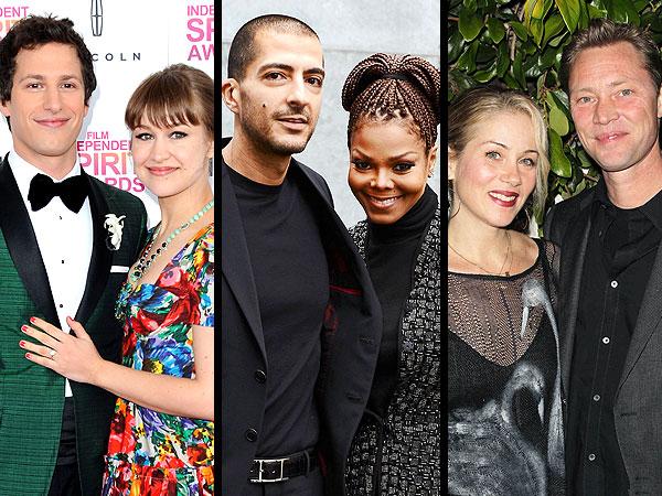 Christina Applegate & Janet Jackson Married, Andy Samberg Engaged During Oscars