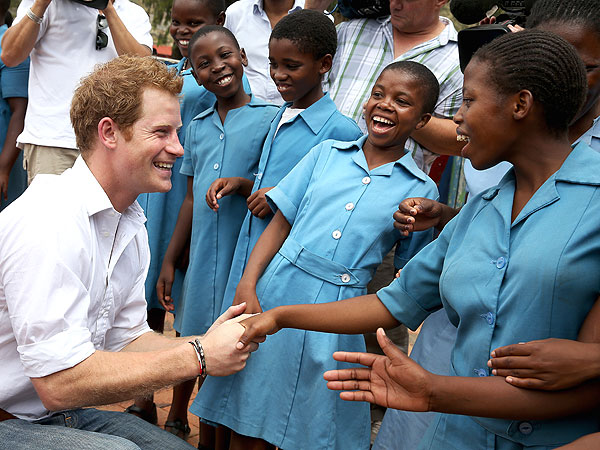 Prince Harry Hopes Princess Diana Would Be Proud of His Charity Work
