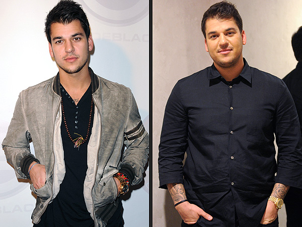 Rob Kardashian Weight Loss Photos; He Tweets About 50 Lb. Weight Gain