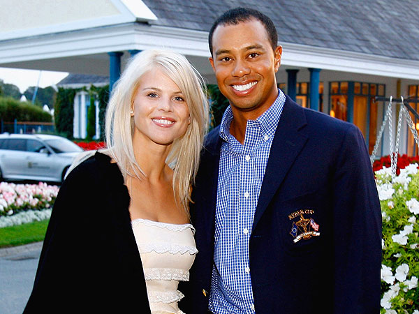 Tiger Woods, Elin Nordegren Meet in Florida