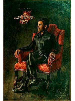 The Hunger Games: Catching Fire Cinna Official Portrait