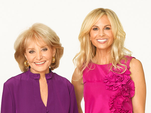 Elizabeth Hasselbeck Leaving The View? Barbara Walters Says She's Not Fired