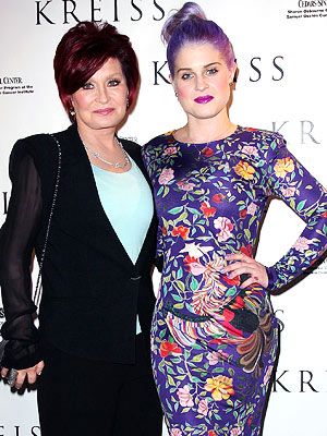Sharon Osbourne: Kelly Osbourne Is 'Fine and Naughty' Post-Seizure