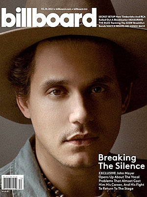 John Mayer Needed Time Off to 'Regain My Sanity'