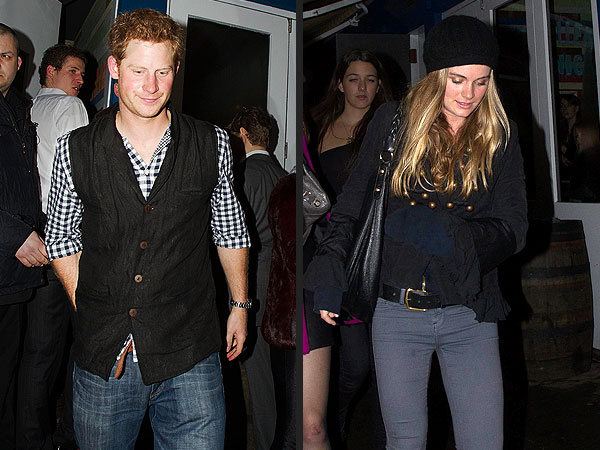Prince Harry and Cressida Bonas Hit Glastonbury Rock Fest
