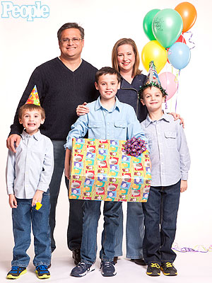 The Cervantes Family Gives Birthday Joy to Homeless Kids