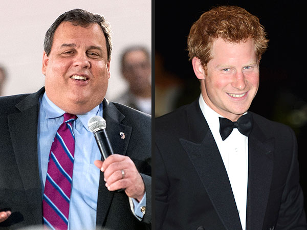 Prince Harry Visiting U.S.; Chris Christie Says He Won't Go Naked