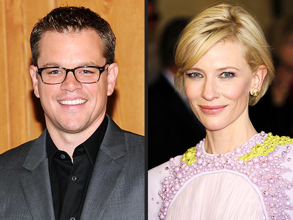 Cate Blanchett, Matt Damon Spend Quality family Time in Berlin