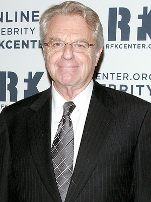 Jerry Springer Hosting New Show Called Tabloid