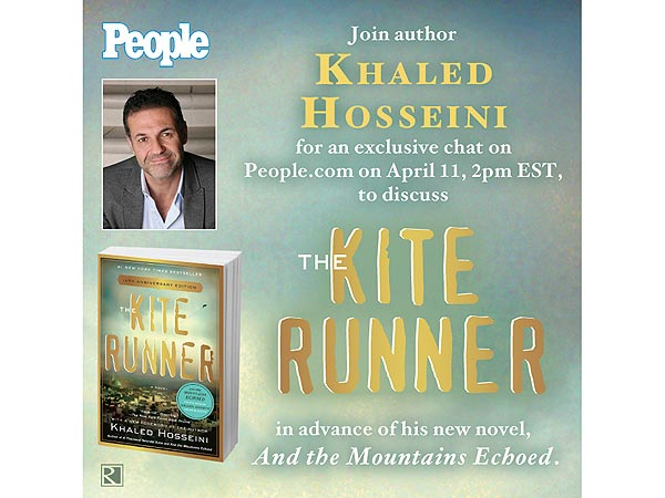 Kite Runner Author Khaled Hosseini Chat with PEOPLE Magazine, PEOPLE.com