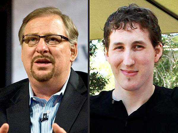Pastor Rick Warren's Son, 27, Commits Suicide