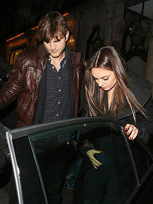 Ashton Kutcher & Mila Kunis Spend Romantic Weekend In Bruges