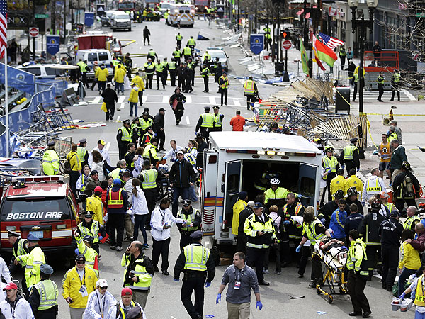 Boston Marathon Bombing: Eyewitness Account