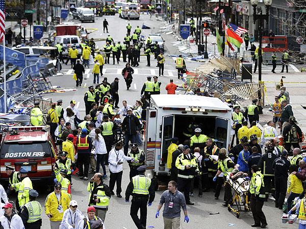 Boston Marathon Bombing: Eyewitness Account