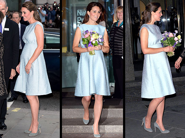Kate's Baby Blue Maternity Dress – How to Get the Look