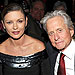 Michael Douglas and Catherine Zeta-Jones Hold Han