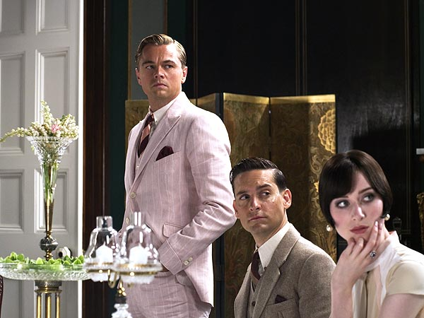 Tobey Maguire and Leonardo DiCaprio Costar in The Great Gatsby
