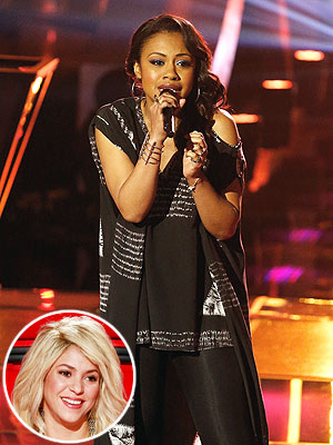 The Voice Contestant Sasha Allen Takes on Etta James in Knockout