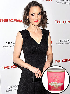 Winona Ryder: I Don't Eat on Camera Anymore