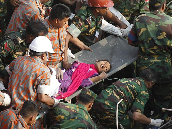Bangladesh Factory Survivor Found in Miracle Rescue – After 17 Days
