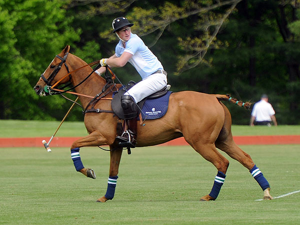 Prince Harry Plays Polo, Thanks U.S. For Hospitality During Tour
