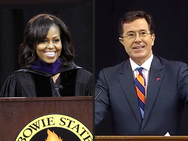 Amy Poehler, Michelle Obama, Stephen Colbert & More Commencement Speeches