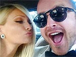 Aaron Paul Kicks Off Wedding Weekend